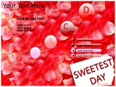 Sweetest day powerpoint theme templates