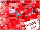 Sweetest day powerpoint theme professional