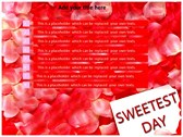 Sweetest day ppt templates