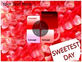 Sweetest day power Point templates
