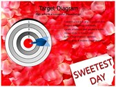 Sweetest day powerPoint backgrounds