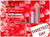 Sweetest day background PowerPoint Templates