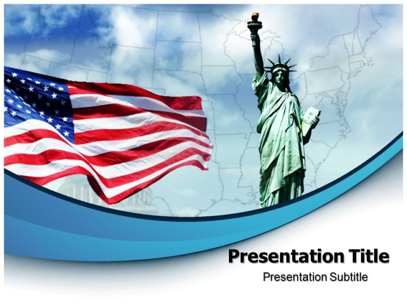 Culture Of Usa Powerpoint Templates Powerpoint Presentation On