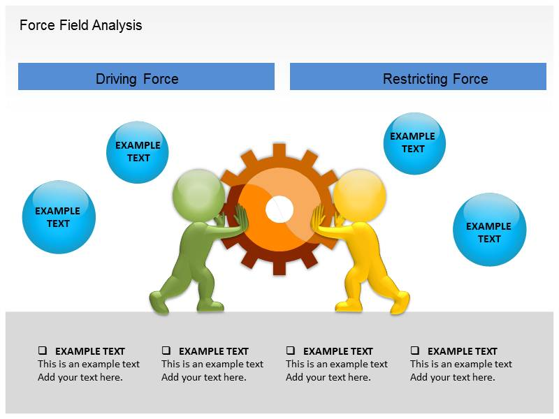 Force Field Analysis PowerPoint Template, Template PowerPoint ...