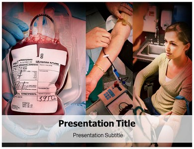 Donate Blood Services Powerpoint Templates