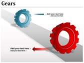 Gears Chart powerpoint template download