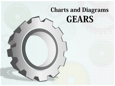 Gears Chart Powerpoint Templates