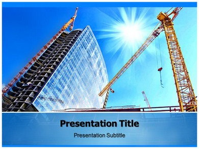 Construction 4 Powerpoint Templates
