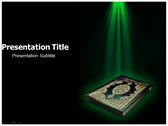 Islam Facts powerPoint template