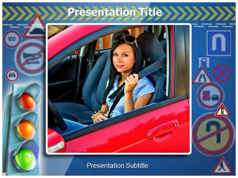 Road safety 1 Powerpoint Templates