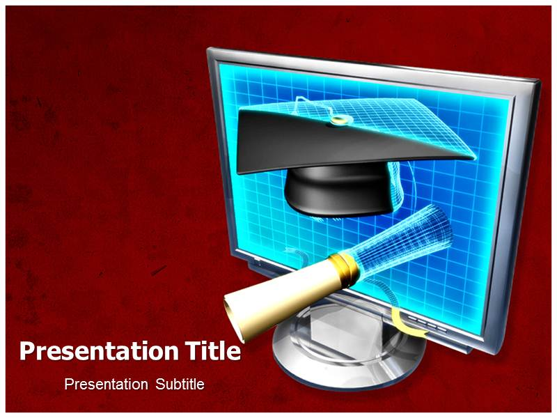 Computer Education Project Powerpoint Templates