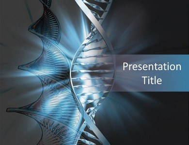 DNA Model Powerpoint Templates