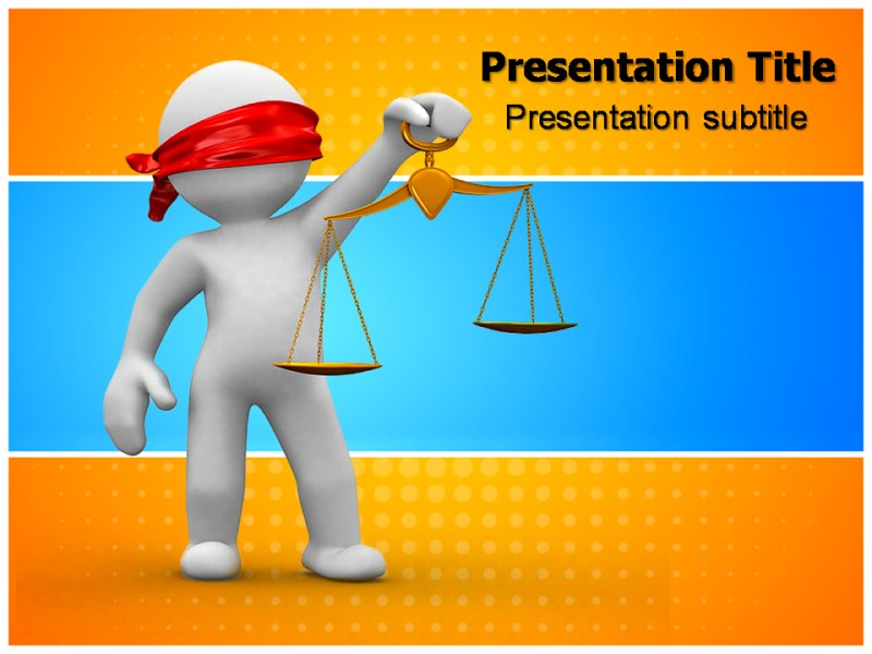 Law 1 Powerpoint Templates
