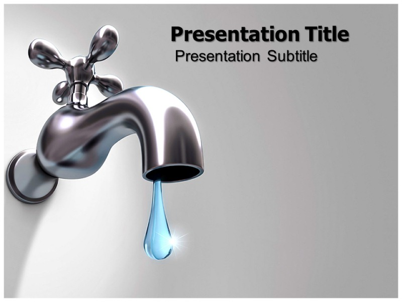 Water wasting powerpoint templates powerpoint presentation on my toneelgroepblik Image collections