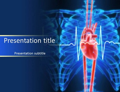 Heart Line Powerpoint Templates