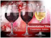Wine Types powerPoint template