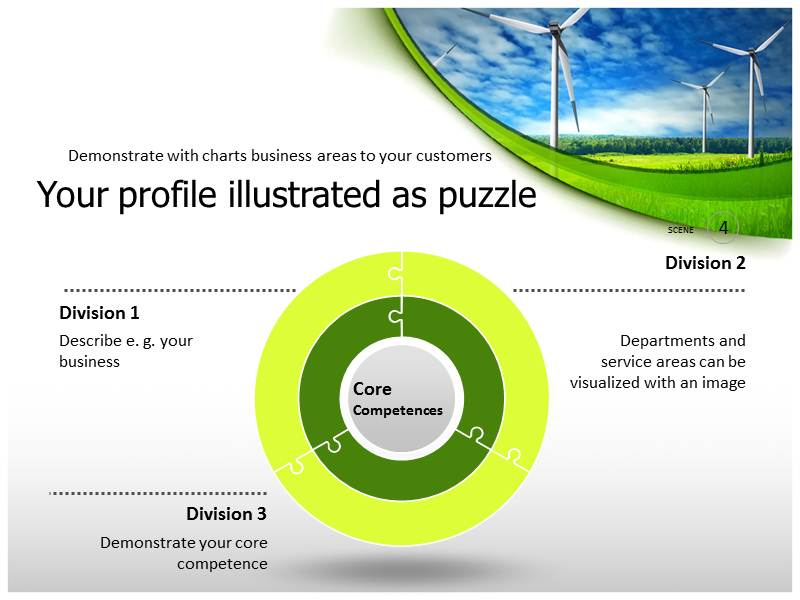 Renewable Energy background PowerPoint Templates