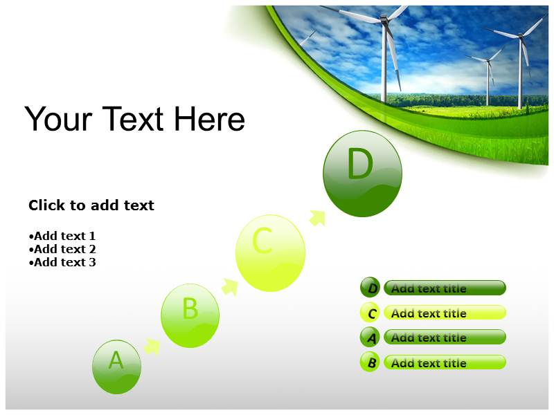 Renewable Energy power point background templates