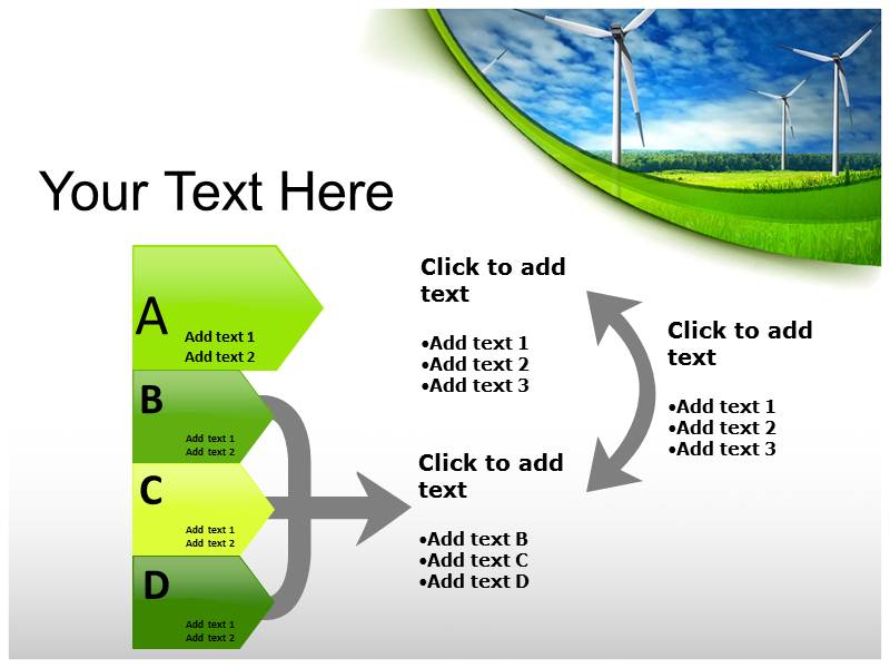 Renewable Energy power point background graphics