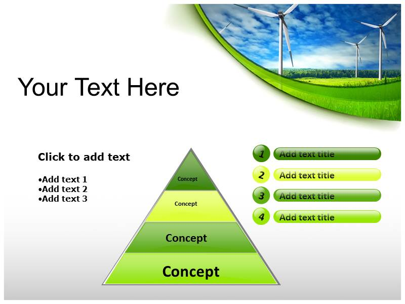 Renewable Energy powerpoint theme templates