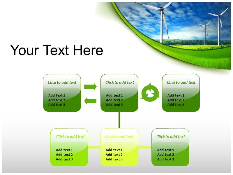 Renewable Energy powerpoint theme professional
