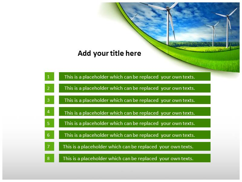 Renewable Energy powerpoint themes download