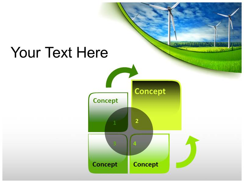 Renewable Energy ppt themes template
