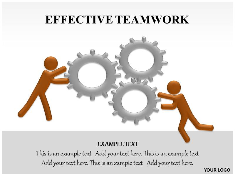 Colorful free teamwork powerpoint templates collection example free powerpoint presentation on teamwork quantumgaming toneelgroepblik Images
