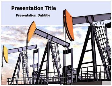 oil field powerpoint (ppt) template | template for oil field ppt, Presentation templates