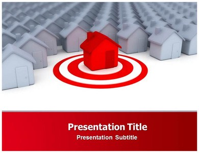 Residential Housing Homes Powerpoint Templates