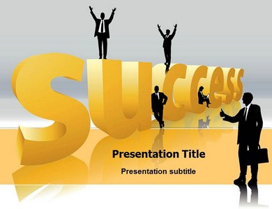 Success Mantra Powerpoint Templates