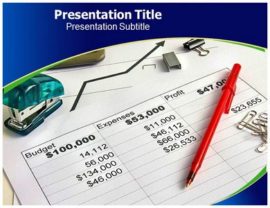Business Budget Powerpoint Templates