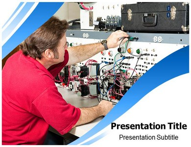 Electrical Engineering Technology Powerpoint Templates