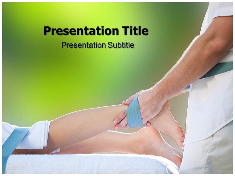 Physiotherapy Theory Powerpoint Templates