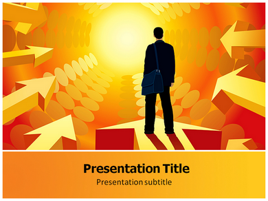 Target Achieved Powerpoint Templates