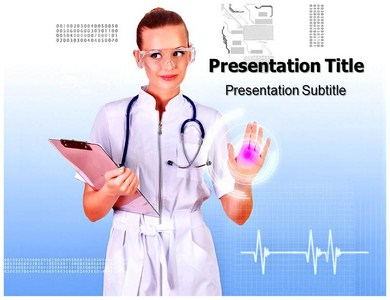 Nursing Resarch Powerpoint Templates