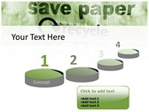 save Paper powerpoint backgrounds download