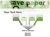 save Paper themes for power point