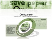save Paper design for power point