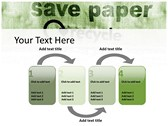 save Paper power point background graphics