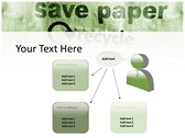 save Paper powerPoint themes