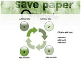 save Paper powerpoint themedownload