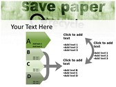 save Paper powerpoint themeprofessional