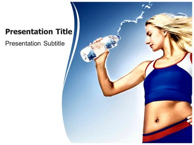 mineral water Powerpoint Templates