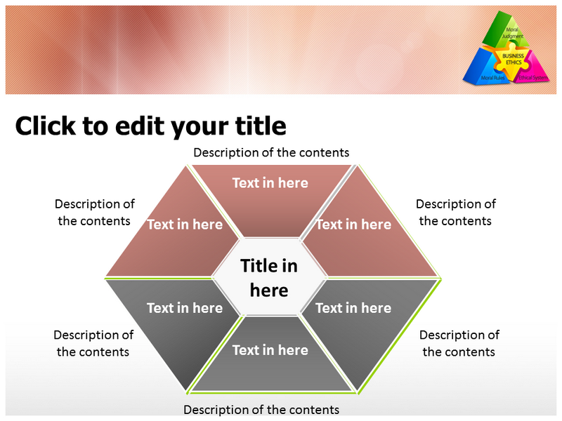 Business Ethics Powerpoint Templates