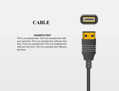 Cable Powerpoint Template Powerpoint Templates