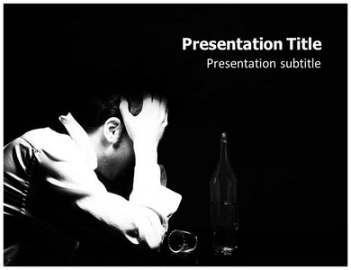 Alcoholic Powerpoint Templates