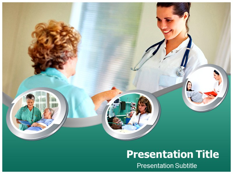 Nurse Powerpoint Templates Powerpoint Presentation On Nurse