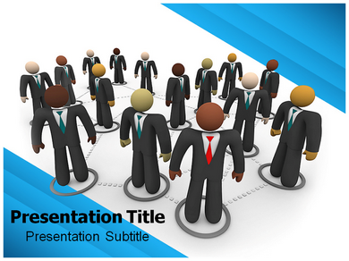 Social Business Powerpoint Templates