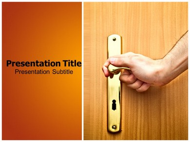 Door Handle Sets Powerpoint Templates